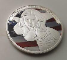 Ivanka Melania Trump Silver Coin Donald Americana President White House Ladies