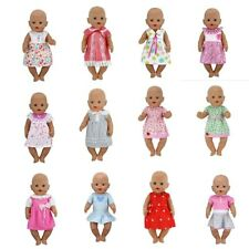 Doll Clothes 17inch Jumpsuit 43cm Reborn Baby Outfits Fashion Pyjama Romper Kit