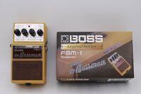 Used Boss FBM-1 Fender '59 Bassman Guitar Effect Pedal w/ Box From JAPAN