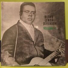 BLIND LEMON JEFFERSON Volume 1 LP new / sealed Son House Robert Johnson