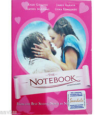 The Notebook (DVD, 2005) Special Pink DVD Cover BRAND NEW Movie