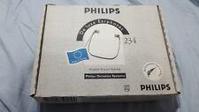 Philips LFH0032 Earphones 234 De Luxe Headphones dictation system double sound