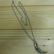 Claw stainless steel biker pendant & necklace
