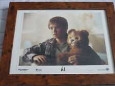 Framed Lobby card Front house Press Promo photo 16x12 A.I. Robot haley + teddy