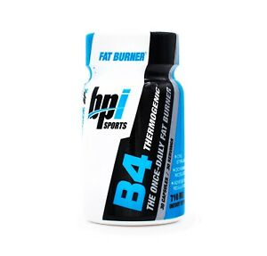 B4 by BPI - The Once Daily Keto Diet Fat Burner Weight Loss Supplement (30 caps)