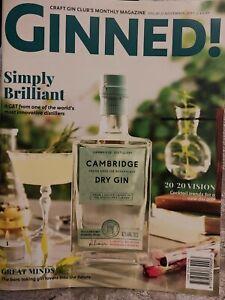 GINNED! MAGAZINE November 2019 Volume 61 Excellent Condition