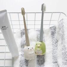 Carton Colorful Ceramic Toothbrush Holder Toothpick Holder Penholder q-tips hold