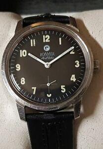 Vintage Armbanduhr Roamer Anfibio in Edelstahl – Handaufzug - Cal. MST 424