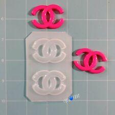 Small Designer Logo Flexible Mold Set ~ 2 pc