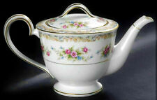 Vintage Mid Century Modern Teapot Porcelain Ceramic Noritake Japan Fine China