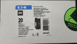 Eaton BRP120DF NEW IN BOX LOT OF 10pcs Dual Function Circuit Breakers