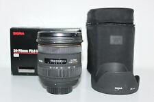 SIGMA EX 24-70 mm f/2.8 DG HSM IF Pentax 1 anno di garanzia