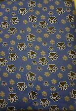 BNWOT  Blue & Black  Paw Print Medium Dog Pet Bed/Mattress/Pillow Free Bowl