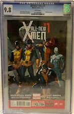 ALL NEW X-MEN 1 CGC 9.8. FIRST PRINTING. RED HOT! MARVEL NOW.