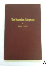 The Hawaiian Language by Henry P. Judd 1944 Grammar Lessons & Vocabulary Hawaii