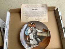 16 Norman Rockwell Plates Heritage Collection