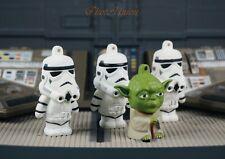 Star Wars Yoda Jedi Master Stormtrooper Clone Figure Cake Topper K1109_K_Gx3