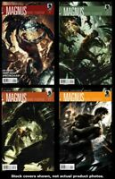Magnus, Robot Fighter (Dark Horse) 1 2 3 4 Complete Set Run Lot 1-4 VF/NM