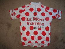 Vintage Le Mont Ventoux Polka Dot TDF Cycling Bike Bicycle Jersey-Adult 3XL