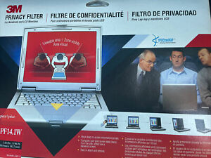Brand New 3M Privacy Filter PF14.1 for Notebook & LCD Monitors Prevent ID Theft