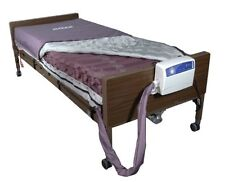Drive Medical Med Aire Low Air Loss Mattress Replacement System with Alternating