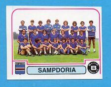 PANINI CALCIATORI 1980/81 - Figurina n.485- SQUADRA - SAMPDORIA -NEW