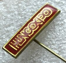 HUNGEXPO, Vintage Hungary Pin Badge