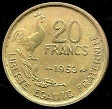 20 FRANCS GUIRAUD 1953