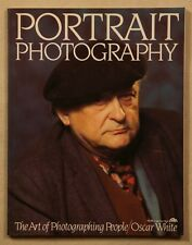 Portrait Photography by Oscar White 1983 1st edition paperback