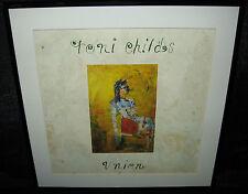 "TONI CHILDS Union (Framed Original 1988 U.S. ""In-Store"" Promo Flat)"