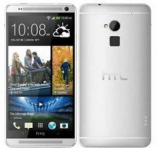 New Condition HTC one Max 32GB Silver (Unlocked)Smartphone +Warranty