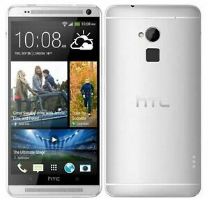 New Condition HTC one Max 16GB Silver (Unlocked)Smartphone +Warranty