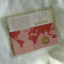"OMEGA Booklet / Warranty (03.11) ""USED"" old stock '80"