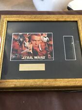 Star Wars Episode 2 Attack Of The Clones Framed Film Cell S3 Gold