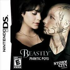 Nintendo DS Beastly Frantic Foto Video Game GAME CARTRIDGE ONLY EXCELLENT COND