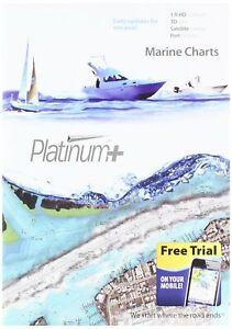 Navionics Platinum+ SD 651 Central Gulf of Mexico Nautical Chart on SD/Micro-...