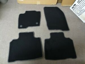 2009 GGBAILEY D3829A-S1A-BK-LP Custom Fit Car Mats for 2007 2010 Ford Edge Sport Utility Black Loop Driver 2008 Passenger /& Rear Floor