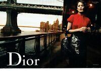 Publicité Advertising 1019 2009  Dior  coll sac Marion Cotillard  (2pag New York