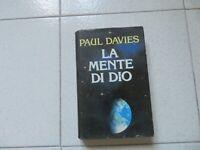 PAUL DAVIES - LA MENTE DI DIO - 1994