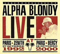 ALPHA BLONDY - LIVE AT PARIS 3 CD NEU