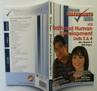 Checkpoints  HEALTH & HUMAN DEVELOPMENT  VCE Units 3 & 4   2010