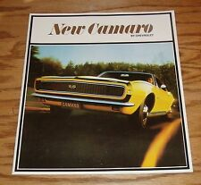 1967 Chevrolet Camaro Sales Brochure 67 Chevy SS 350 Sport Coupe Convertible