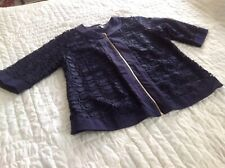 Jessica London Top  Size 18 Navy Lace