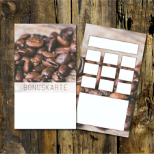200 Treuekarten Kaffee Bonuskarten Kaffee