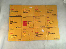 Lot of 12 Kodak Color Compensating 75mm Filters