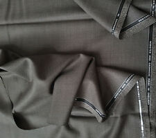 Wool and Cashmere Super 120s Brown Pindot 3.95 MTRS Suting Fabric Skirt Dress