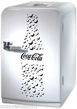 Coca cola bottle burbujas pegatinas 60x18cm, por ejemplo, para nevera, puerta, informa del color