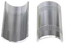 NEW Bike Bicycle Handle Bar Shim 22.2 mm to 25.4 mm Silver