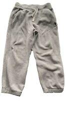 Polo Ralph Lauren Sweatpants Grey/w Navy Blue Polo Pony Logo Boys Size 6