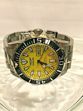 Invicta Men's Automatic Open Glass Back Watch